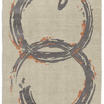 Twirls | Suede | 6'x9'