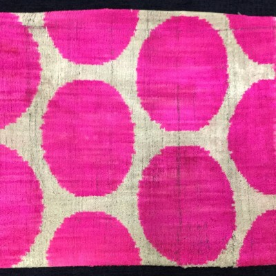 SILK VELVET IKAT PILLOW_0093