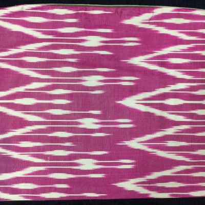 SILK VELVET IKAT PILLOW_0129